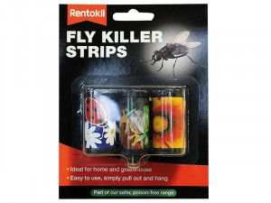 Rentokil Fly Killer Strips Pack of 3
