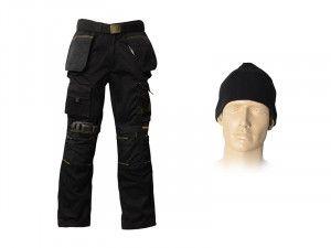 Roughneck Clothing, Trouser Pack, Belt, Beanie & Kneepads