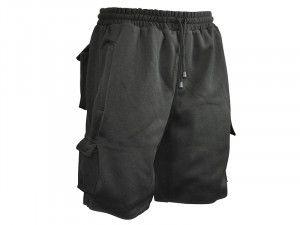 Roughneck Clothing, Jogger Shorts Black