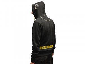 Roughneck Clothing, Black & Grey Zipped Sweatshirt