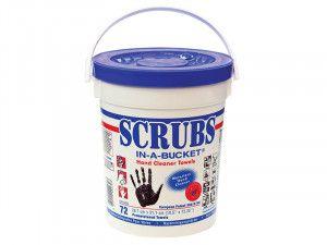 ROCOL SCRUBS Hand Wipes Tub 72