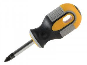 Roughneck Screwdriver Pozidriv Tip PZ2 x 38mm Stubby