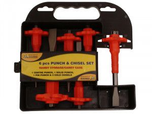 Roughneck Punch & Chisel Set 6 Piece