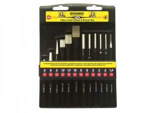 Roughneck Punch & Chisel Set 12 Piece