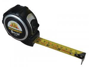 Roughneck Pocket Tape 8m/26ft (Width 25mm)