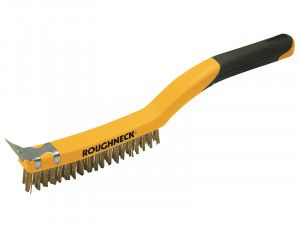 Roughneck, Wire Brush Soft Grip
