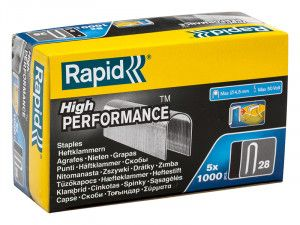 Rapid, 28 Series 10mm Staples