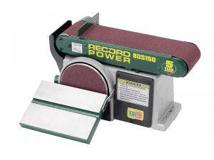 Record Power BDS150 Belt Disc Sander 152 x 101mm (6 x 4in)