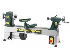 Record Power DML250 250mm (10in) Cast Iron Mini Lathe 375W 240V