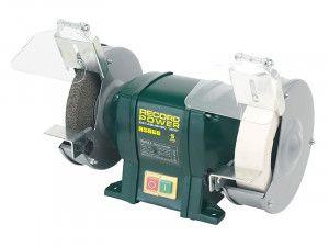 Record Power RSBG6 150mm (6in) Bench Grinder 350W 240V