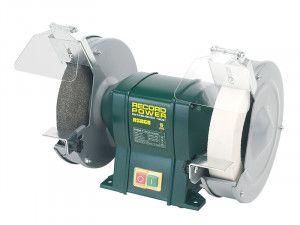 Record Power RSBG8 200mm (8in) Bench Grinder 400W 240V