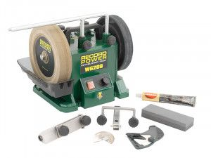 Record Power WG200 200mm (8in) Wet Stone Grinder 160W 240V