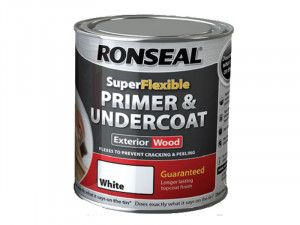 Ronseal, Super Flexible Wood Primer & Undercoat 750ml