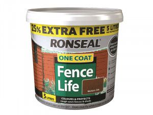 Ronseal, One Coat Fencelife 4 litre + 25%
