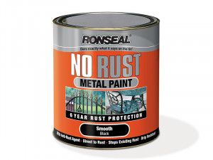 Ronseal, No Rust Metal Paint Smooth
