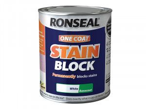 Ronseal, One Coat Stain Block White