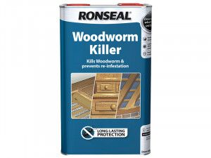 Ronseal Woodworm Killer 5 Litre