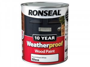 Ronseal, Weatherproof 10 Year Exterior Wood Paint