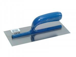 R.S.T. Plasterers Lightweight Finishing Trowel Plastic Handle 11 x 4.1/2in
