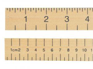 R.S.T. Hardwood 1 Metre Stick Plain