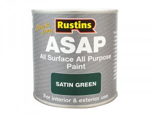 Rustins, Quick-Drying All Surface All Purpose (ASAP) Paint