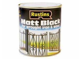 Rustins, Black Paint Quick Drying