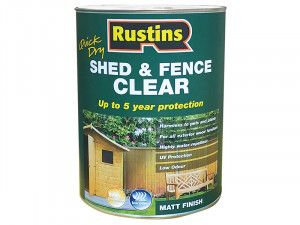 Rustins, Quick Dry Shed and Fence Clear Protector