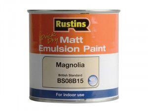 Rustins, Quick Dry Matt Emulsion Paint
