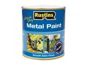 Rustins, Metal Paints Smooth Satin