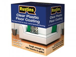 Rustins, Clear Plastic Floor Coating Kits