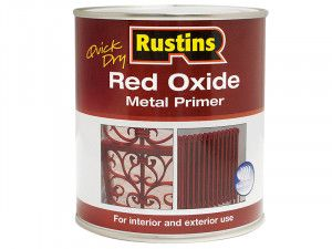 Rustins, Quick Dry Red Oxide Metal Primer