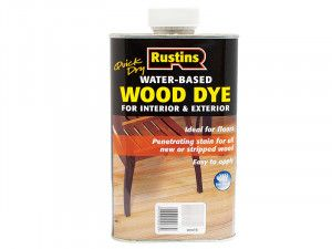 Rustins, Quick Dry White Wood Dye