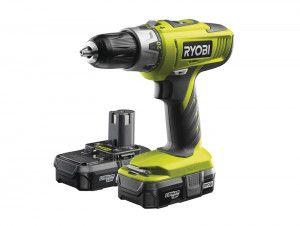 Ryobi LLCDI18022 ONE+ Combi Hammer Drill 18V 2 x 1.3Ah Li-Ion
