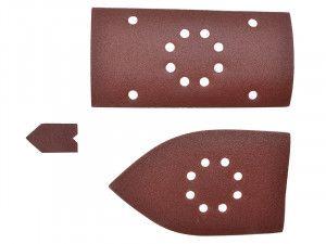 Ryobi Palm Sander Sheets Assorted For EMS180RV (Pack of 30)