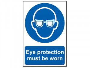 Scan Eye Protection Must Be Worn - PVC 200 x 300mm
