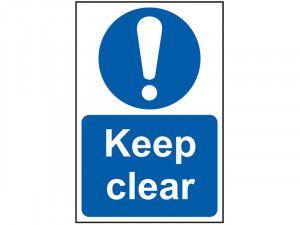 Scan Keep Clear - PVC 200 x 300mm