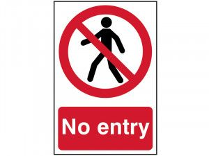 Scan No Entry - PVC 200 x 300mm