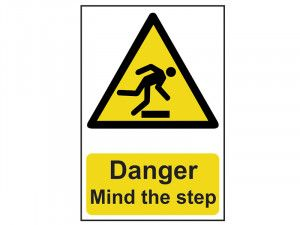 Scan Danger Mind The Step - PVC 200 x 300mm