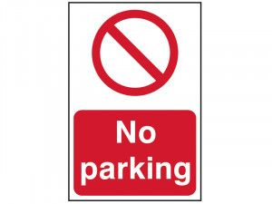 Scan No Parking - PVC 400 x 600mm