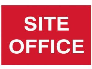 Scan Site Office - PVC 600 x 400mm