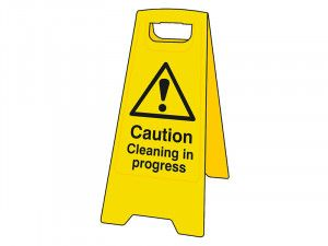 Scan Caution Cleaning In Progress Heavy-Duty A Board