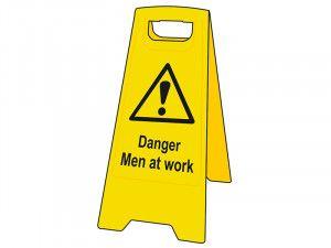 Scan Danger Men At Work Heavy-Duty A Board