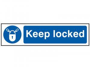 Scan Keep Locked - PVC 200 x 50mm