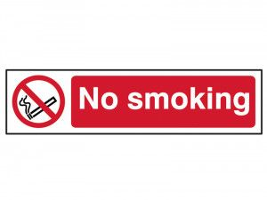 Scan No Smoking - PVC 200 x 50mm