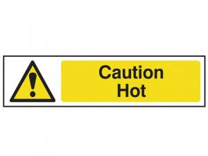 Scan Caution Hot - PVC 200 x 50mm
