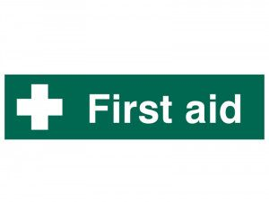Scan First Aid - PVC 200 x 50mm