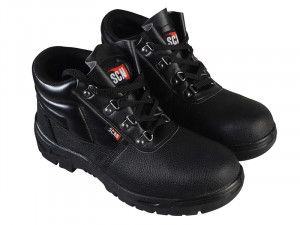 Scan, 4 D-Ring Chukka Safety Boots