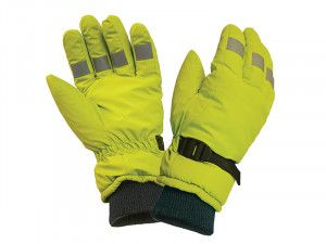 Scan, Hi-Visibility Gloves, Yellow