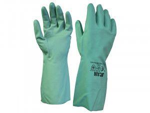 Scan 13in Nitrile Gloves Size 9 (L)