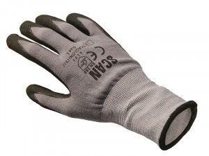 Scan Breathable Microfoam Nitrile Gloves Size 9 (L)